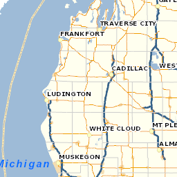 The State Of Michigan Map.Mi Department Of Insurance And Financial Services Difs Coverage Maps